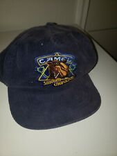 Vintage Corduroy Camel cap Smooth Character hat Adjustable Snapback