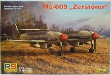 """Me-609, """"distruttore"""", 1:72, plastica, RS-model, Novità"""