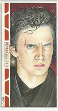 Topps Star Wars Revenge Sith Widevision Sketch Anakin Skywalker Shane McCormack