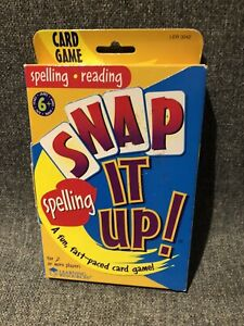 Snap It Up Word Families Reading Card Game Learning Resources LER3042