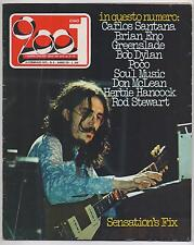 CIAO 2001 n.6/1975 bob dylan poco sensation's fix rod stewart greenslade 1974