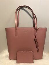 NWT Kate Spade Seton Drive Karla Dusty Peony Tote and Tellie Wallet Set Gift