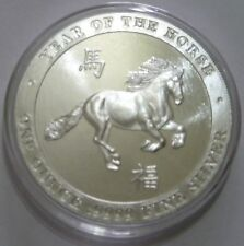 Baird and Co Year of the HORSE 1 oz .9999 Silver Bullion Round
