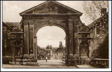 HELMSTEDT um 1925 Portal des Ludgeri Klosters Verlag Trinks & Co. in Leipzig