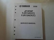 2008 Yamaha FJR13AX FJR13AEX (C) Service Repair Shop Workshop Manual FACTORY NEW