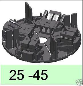 60 Stelzlager, 25-45mm verstellb.Plattenlager, f. Terrasse Terrazzofliesen