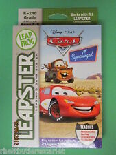 Leap Frog Leapster Leapster 2 ~~ Cars SUPERCHARGED ~~~ Ship WORLDWIDE ~~~ NIP
