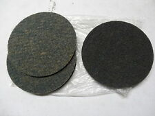 """5 new EA KLINGSPOR 7"""" x 3/16"""" thick Sanding Abrasive Surface Conditioning Discs"""