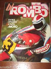 RIVISTA ROMBO BIROMBO 1984/3=EXTRA ATTUALITA' A TUTTO MOTO=MOTOCICLISMO=