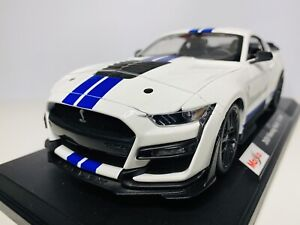 Maisto 1/18 Diecast Special Edition 2020 Mustang Shelby GT500 White (SALE)