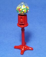 Miniature Dollhouse Large Standing Gumball Machine 1:12 Scale New