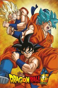 Dragon Ball Z Poster Dragon Ball Super Goku DBZ 61x91.5cm