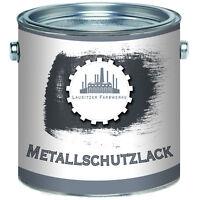 Lausitzer Farbwerke Metallschutzlack Lack 1L 2,5L 5L 10L RAL 7016 Anthrazitgrau