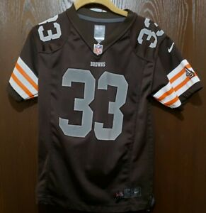 Nike Brown Trent Richardson Cleveland Browns #33 Football Jersey Youth Medium