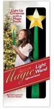 Green Princess MAGIC LIGHT UP WAND Christmas Tree w/ Touch SOUND Remote Control