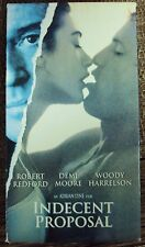 INDECENT PROPOSAL VHS early-90's drama Robert Redford Demi Moore Woody Harrelson