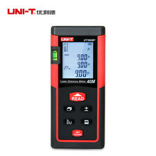 UNI-T Digital Laser Distance Meter UT390B+ Bubble Level Rangefinder Range Finder