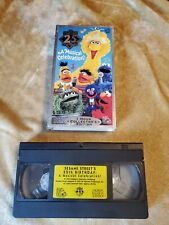 Sesame Streets 25th Birthday: A Musical Celebration (VHS, 1993)