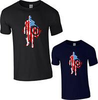 Captain America Men's T-Shirt Avengers Marvel Superhero Shield Thor Iron man Top