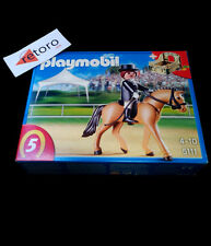 PLAYMOBIL 5111 DOMA DE CABALLO CON ESTABLO Pony Ranch New Sealed Nuevo
