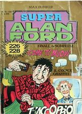 MAX BUNKER SUPER ALAN FORD ORO N.76 CON  N.226/228