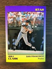 1987 Star Company WILL CLARK Limited Edition PROMO Card