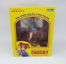 Horror Bishoujo Statue Chucky Kotobukiya Bride of Chucky New & Sealed Authentic