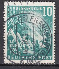 BRD 1949 Mi. Nr. 111 TOP Vollstempel Gestempelt LUXUS!!! (20895)