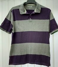 George Striped Cotton Blend Collared Men's Casual Shirts & Tops