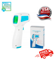 Digital Infrared Thermometer Non-contact Forehead Baby Adult Temperature Gun LCD