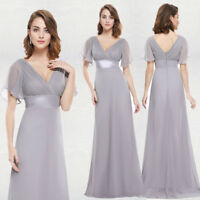 Ever-pretty Long Formal Wedding Evening Ball Gown Party Prom Bridesmaid 09890