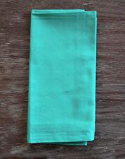 Turquoise Aqua Green Cotton Dinner Napkins - Set of 4