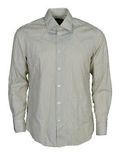 "Hugo Boss Double Cuff Shirt Men's Size 16"" Collar"