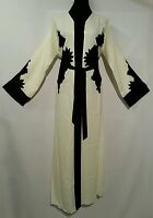 Femme Bout Ouvert Abaya.japanese Lin Matière Taille 56