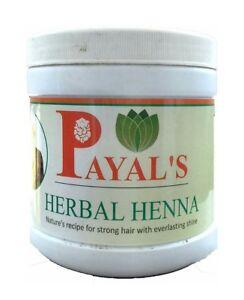 Payal's Herbal Henna 500gm reduce hair loss, improve hair quality & shine