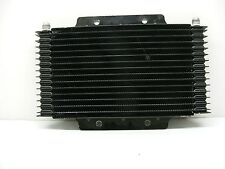 "NEW LONG OIL COOLER W/ -06 FITTINGS 1"" x 6"" x 11"" RACE NASCAR DRAG OVAL 050216-4"