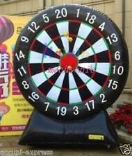 New Inflatable Game 2.4M Giant Inflatable Dart Board with Blower 110v// 220v