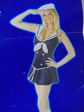 Sexy Navy Sailor Women's Halloween Costume Medium 10-14 #1320