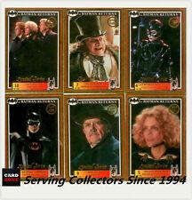 *1992 Australia Dynamic Batman Returns Movie Gold EMBOSSED SET(10)-UNRELEASED