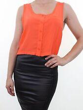 Topshop No Pattern Regular Sleeve Tops & Shirts for Women