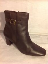 Footglove Brown Ankle Leather Boots Size 6