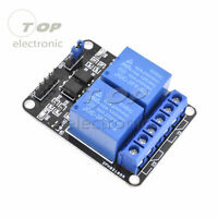 1/2/5PCS 5V 2 Channel Relay Module with optocoupler for Arduino PIC ARM DSP AVR