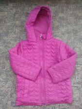schöne Jacke mit Herzen für Mädchen in pink Größe 110