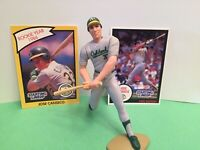 1990 Jose Canseco Starting Lineup figure Card toy Oakland A's W/ Rookie Pic Card