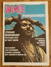 NME music newspaper July 26th 1986 Possessed cover