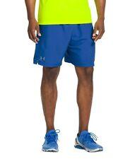 """Under Armour Men's UA Escape 7"""" Solid Run Shorts; Blue; Men SIZE 2XL / XXL"""