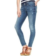 Gap 1969 Always Skinny Distressed Jeans Womens SZ 27 Cotton Stretch Galloway