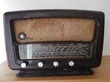 Radio antigua de válvulas FUNCIONA -SCHNEIDER Melodie Baquelita,Radio restaurada