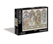 Clementoni Puzzle 1000 teile Mucha die vier Jahreszeiten (39177)