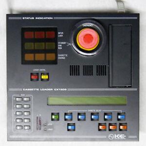 KE KOKUSAI ELECTRIC CX1209 CASSETTE LOADER T2DD1-15628-001 CX1209P CONTROL PANEL
